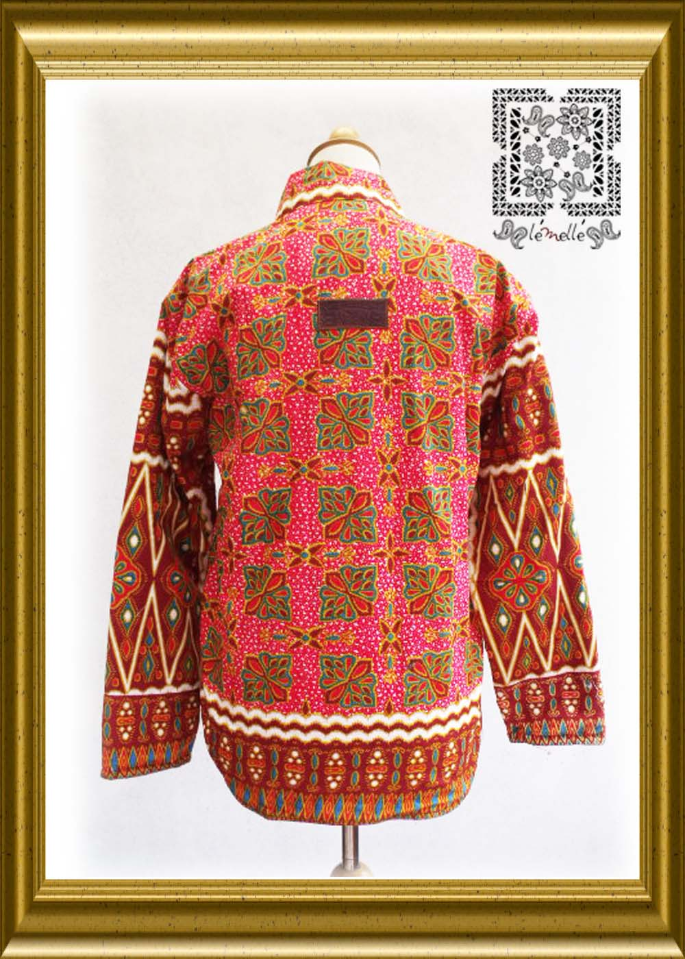 Lemelle - The Newbie Things: batik jacket for woman season 8