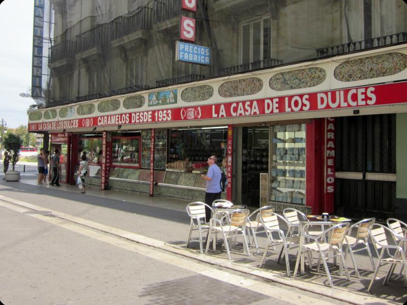 My album delivery blog blogger traveller valencia colegio - Casa de los caramelos valencia ...