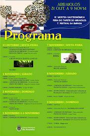 15ª MOSTRA GASTRONÓMICA/ FEIRA DO TAPETE DE ARRAIOLOS -