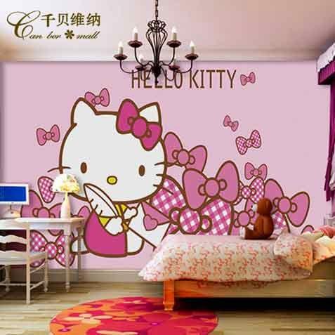 Contoh Wallpaper Kamar Tidur Anak 1
