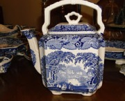 Blue Transferware and The Gift