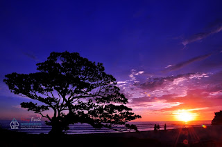 SUNSET DI PANTAI POK TUNGGAL