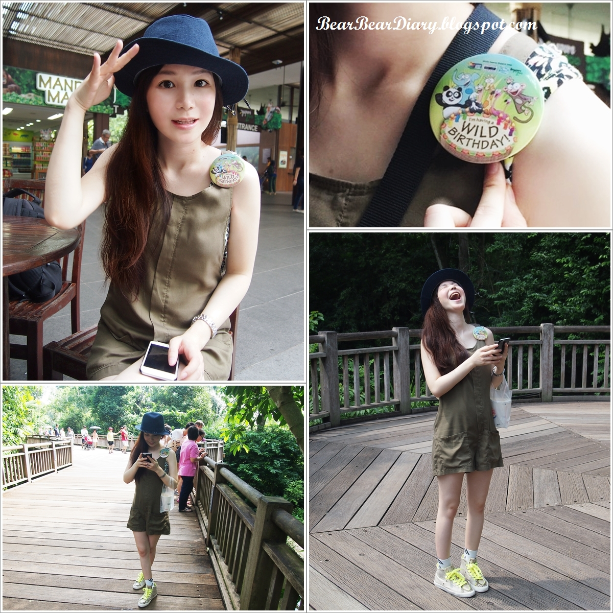 what to wear to singapore zoo