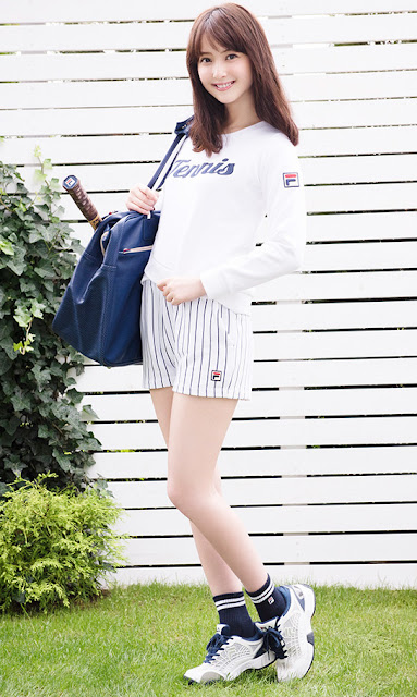 Sasaki Nozomi 佐々木希 Fila Autumn Collection Photos 10