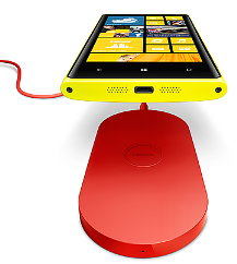 Wireless Charging on Nokia Lumia 920