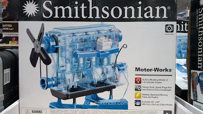 Smithsonian Motor-Works – See for yourself the inner workings of a model engine