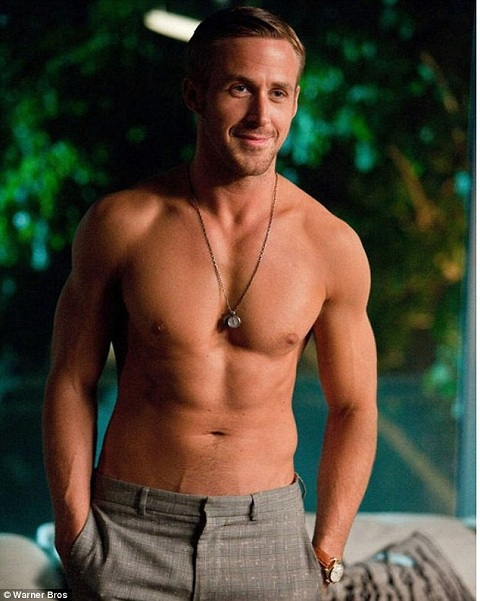 ... and totally re-fell-in-love with Ryan Gosling. Holy mother of pearl.