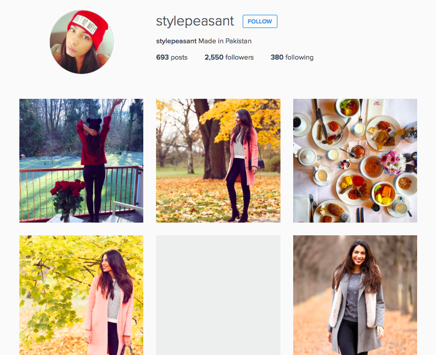 Stylepeasant's IG Feed - Aspiring Londoner