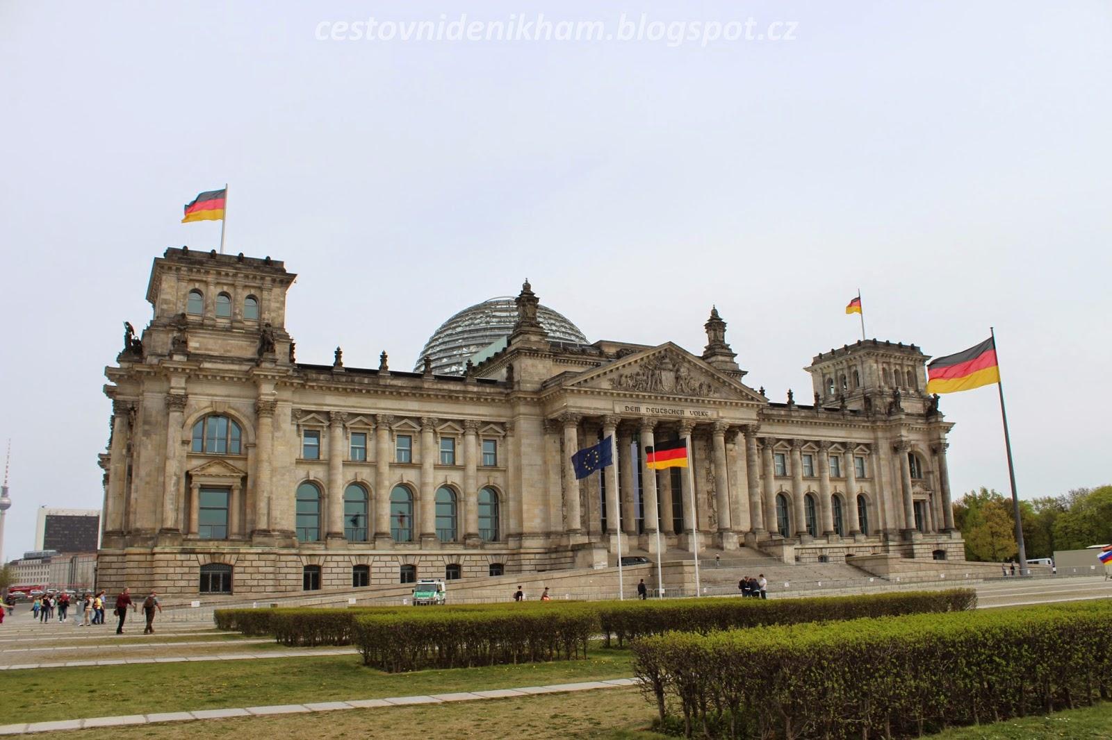 Budova Říšského sněmu v Berlíně // Reichstag building