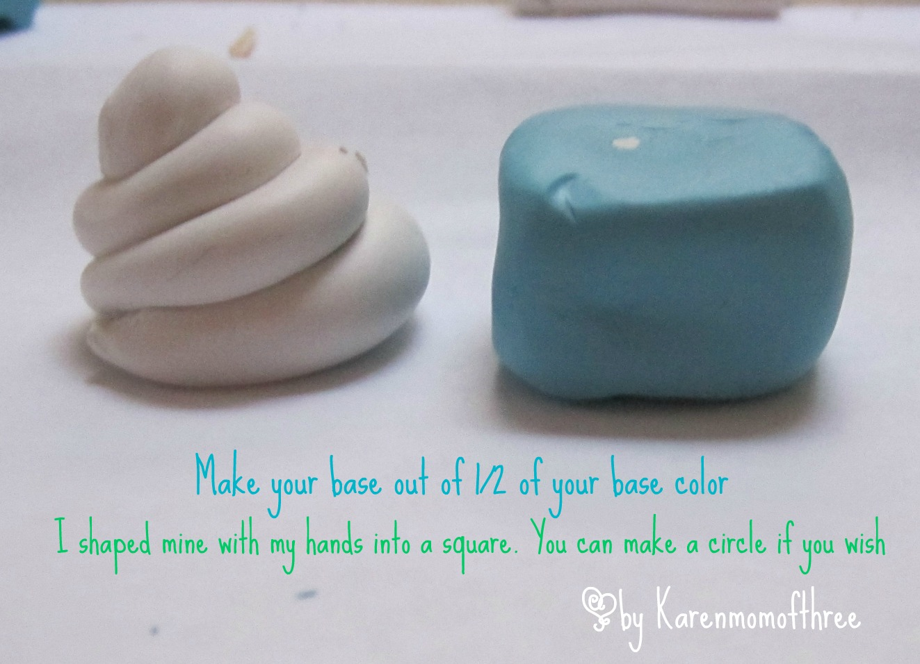 how to make clay dolls step by step