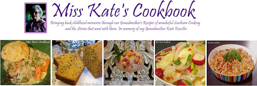 Miss Kate's Cookbook