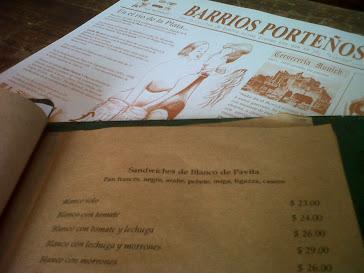 Cafe Margot - Detalles de servicio -Dic. 2011