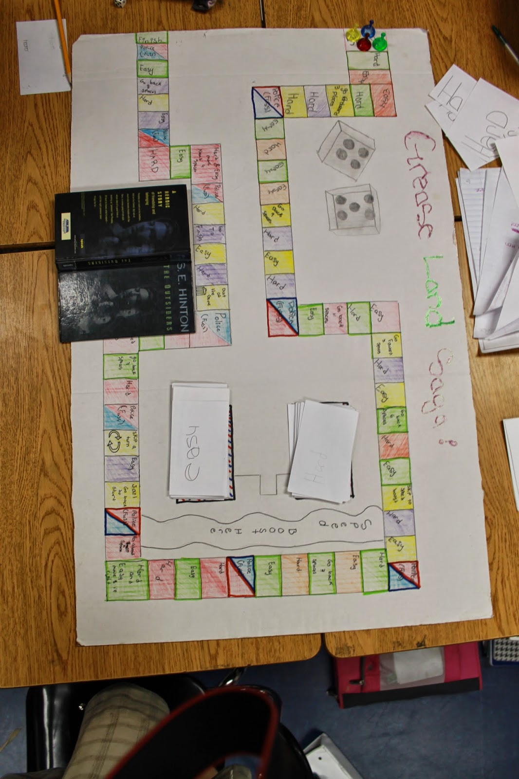 the things you can teaching the outsiders by s e hinton the outsider board games vote for what to do next