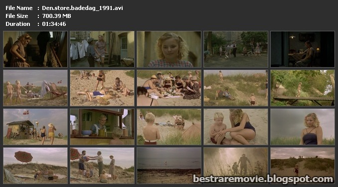 Den store badedag (1991) The Great Day on the Beach