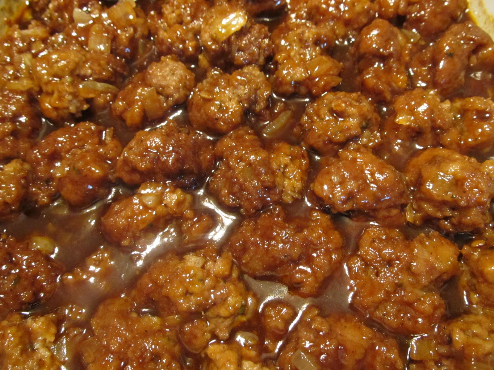 The Busy Bee's: Sweet and Sour Meatballs