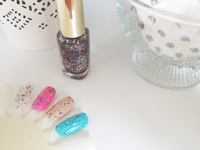 l'oreal color riche nails sequin explosion review swatch UK beauty blogger