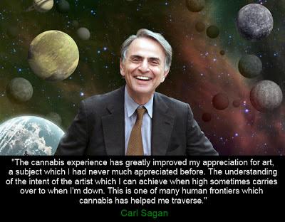 Carl Sagan, cannabis , marijuana, NORML