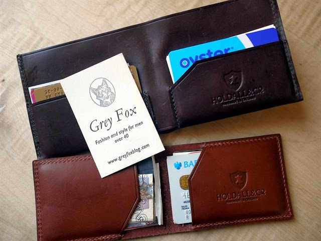 Grey Fox Blog Letterpress Calling Cards and Holdall & Co wallets