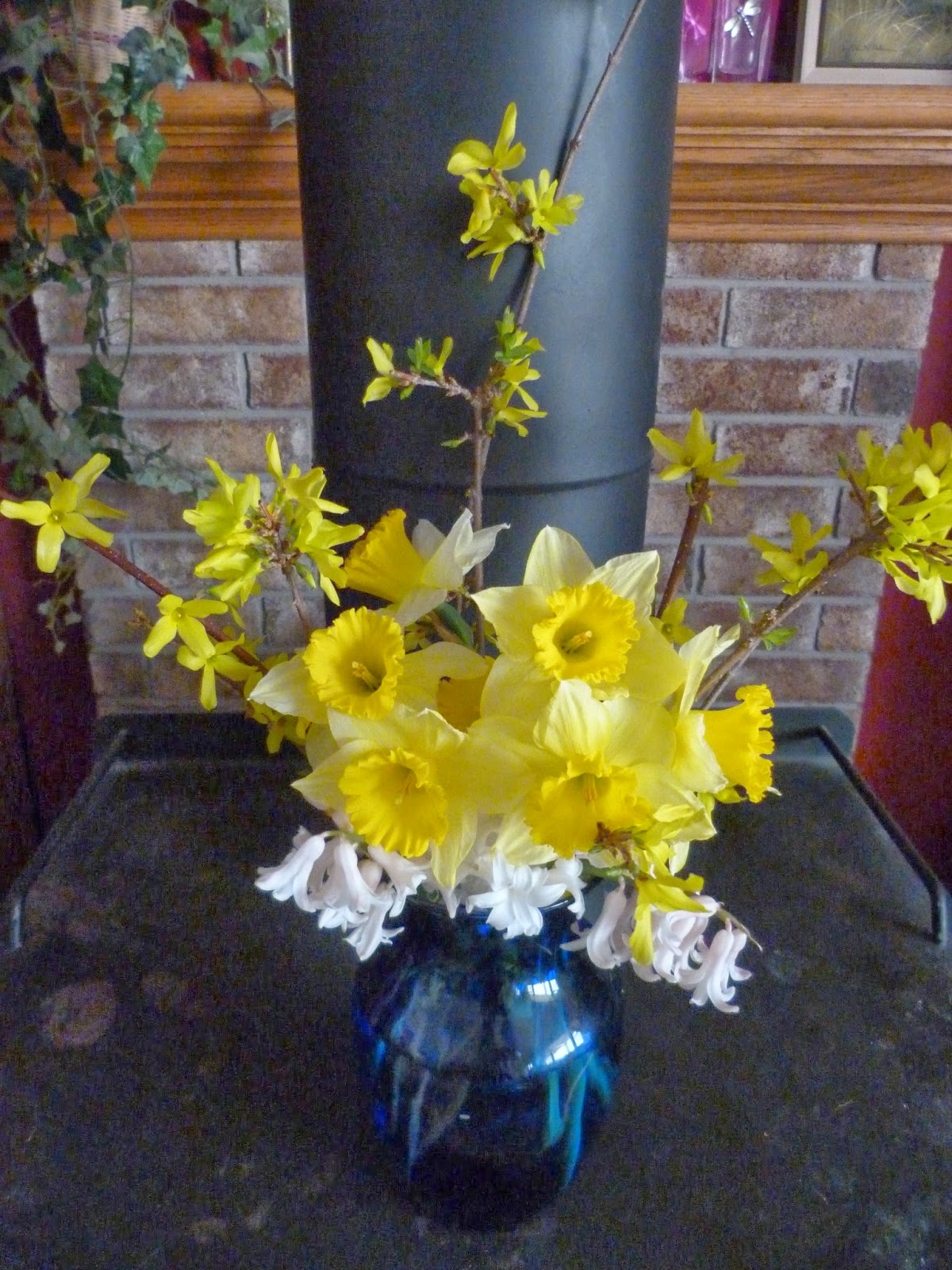 chmusings: first spring bouquet