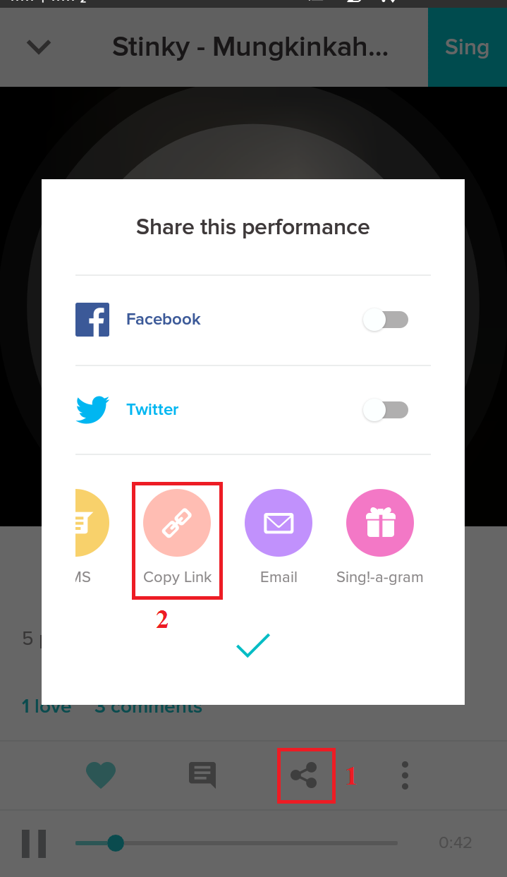 how to download from smule