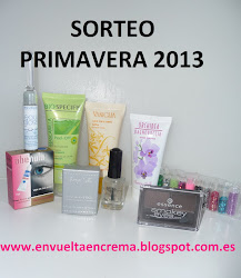 "Sorteo en el blog ""Envuelta en crema"""