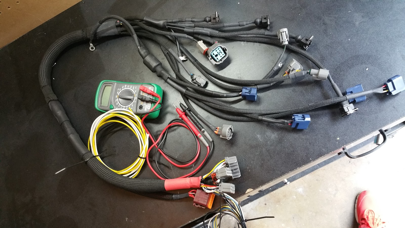 Ill Villain Wait You Said Crx Right Ae86 Wiring Diagrams Found These I39m Not Very Good At Reading During The Testing As A Sanity Check I Stripped Parts Of T Offs From Outter Loom So Id Be Able To Verify Wire Color And Which Branch They Went Too