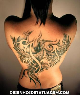 Tatuagem Fenix diferente