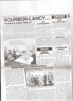 Dédicace à la médiathèque de Bourbon Lancy