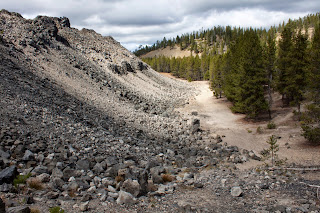 Newberry National Volcanic Monument, photo by Lisa Miller, obsidian photography