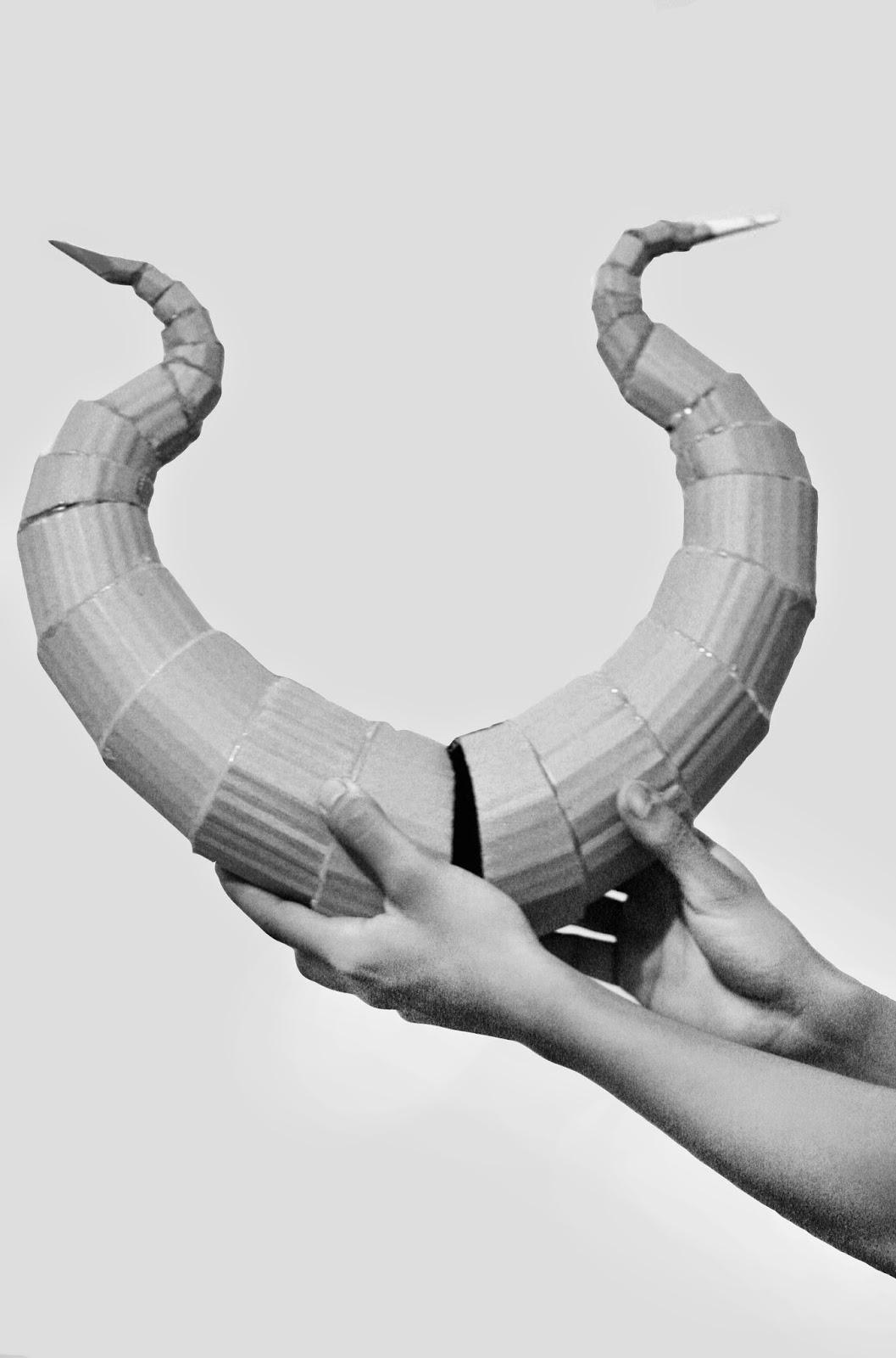 oishari!: DIY Lightweight Costume Horns Horns