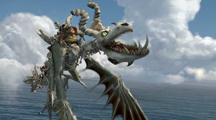 Legend of the Boneknapper Dragon and download link, How To Train Your Dragon