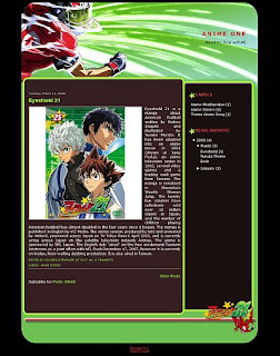 Download template anime blog gratis 2012