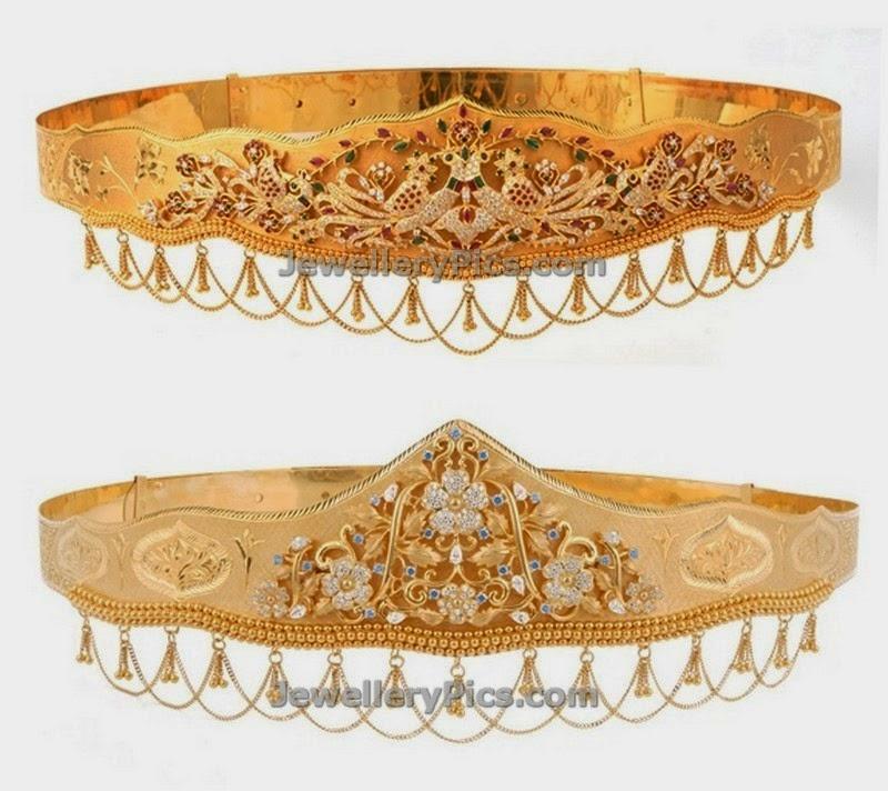 ans jewellery gold waist belt patterns
