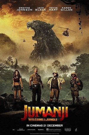 Jumanji - Welcome to the Jungle Bluray Mp4 Baixar torrent download capa