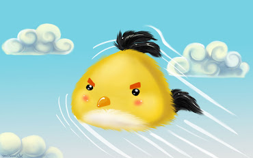 #7 Angry Bird Wallpaper