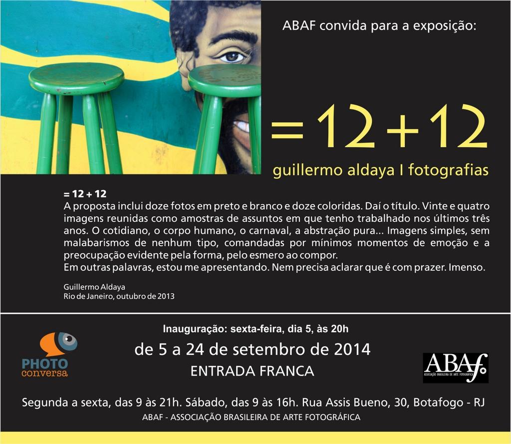 = 12 + 12, by Guillermo Aldaya