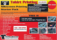 SILKSCREEN PRINTING Package B