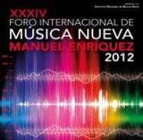 34 Foro Internacional de Música Nueva