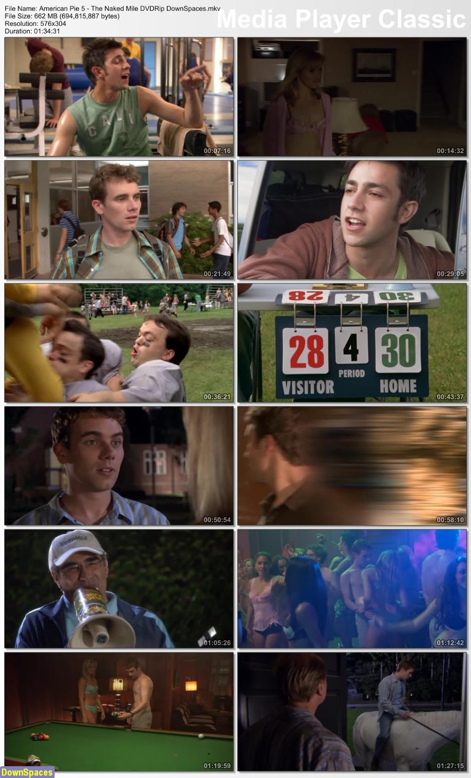 American Pie the naked mile 2006 dvdrip