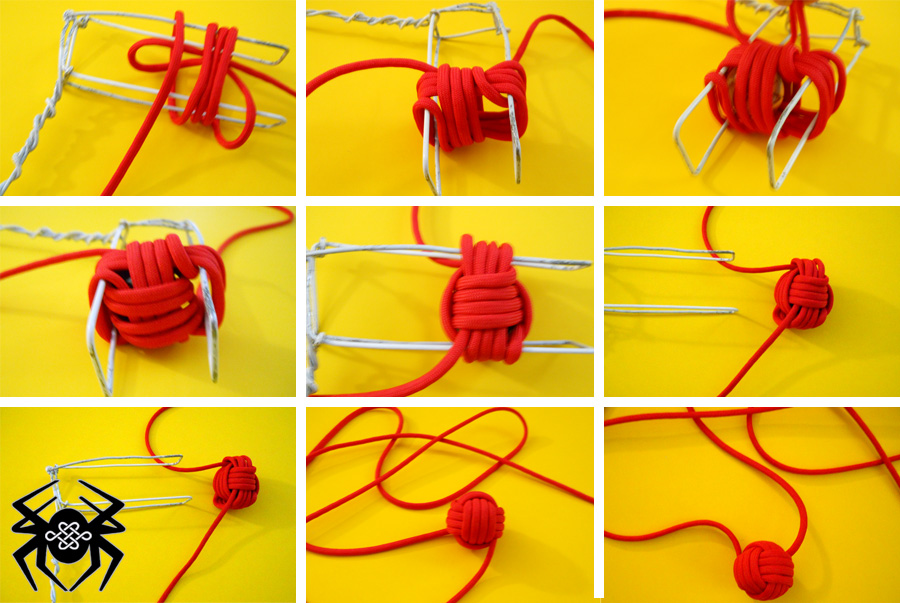 How to make a monkey fist lanyard