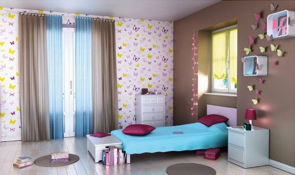deco chambre fille couleur. Black Bedroom Furniture Sets. Home Design Ideas