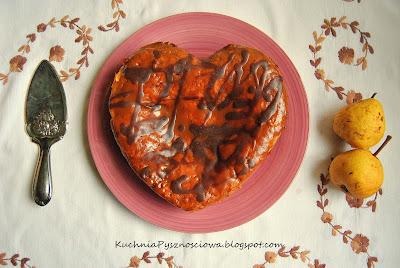 157. Ciasto gruszkowe z solonym karmelem