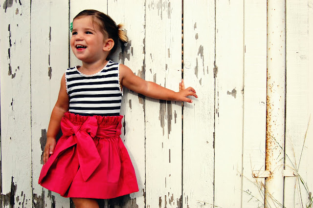 beautiful skirt for kids: sewing patterns