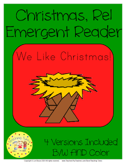 https://www.teacherspayteachers.com/Product/Christmas-Religious-Emergent-Reader-1313021