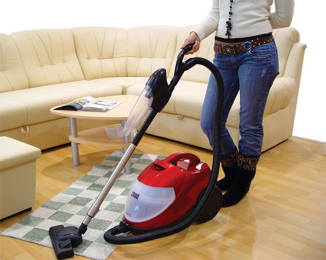 Easy Makeover - Start with a Vacuum, Clean and Polish