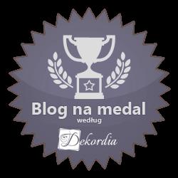 Blog na medal według serwisu Dekordia.pl