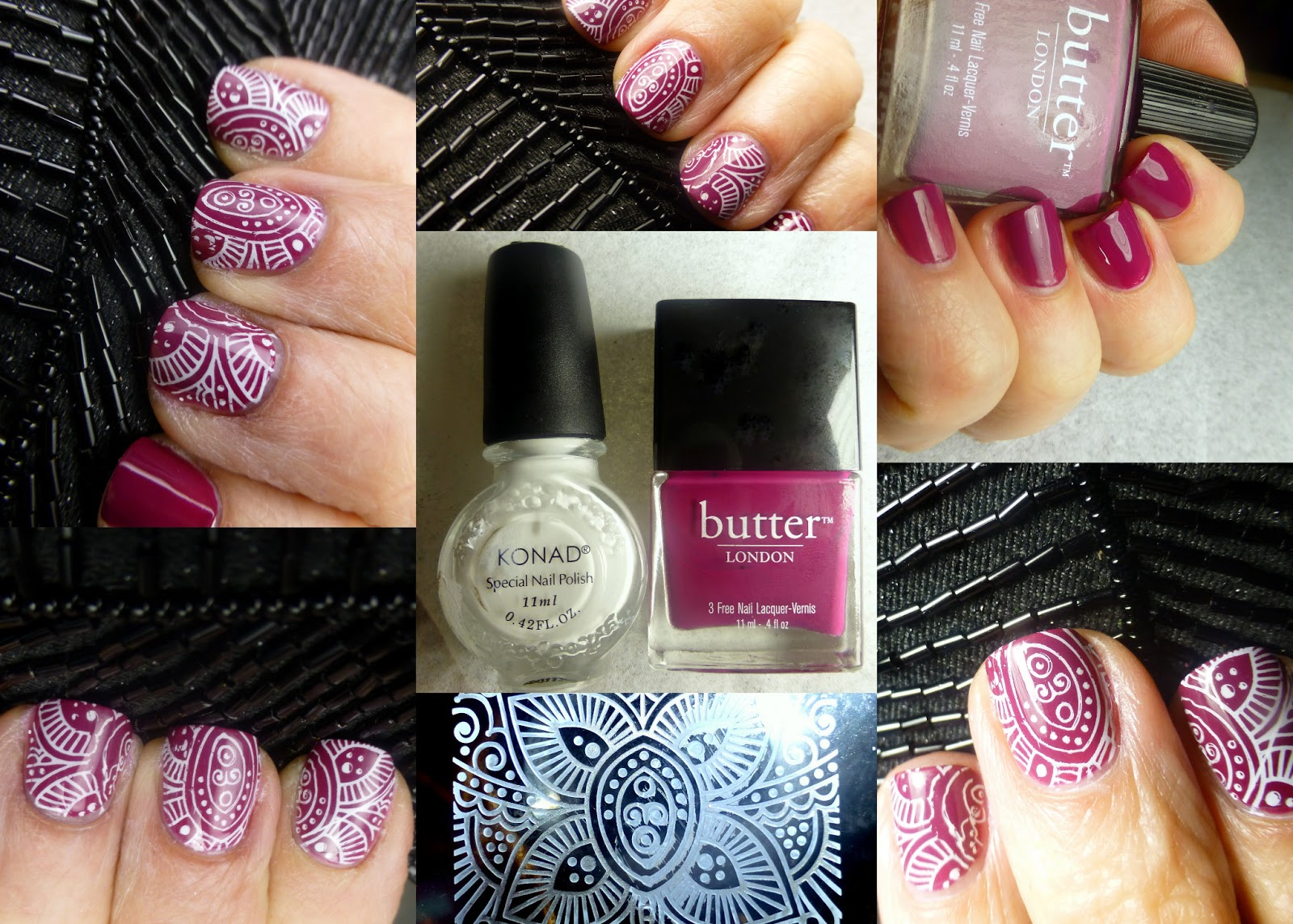 Polish Days: Vintage (BL Queen Vic, Konad, and Dashica) - L O Z L O S A