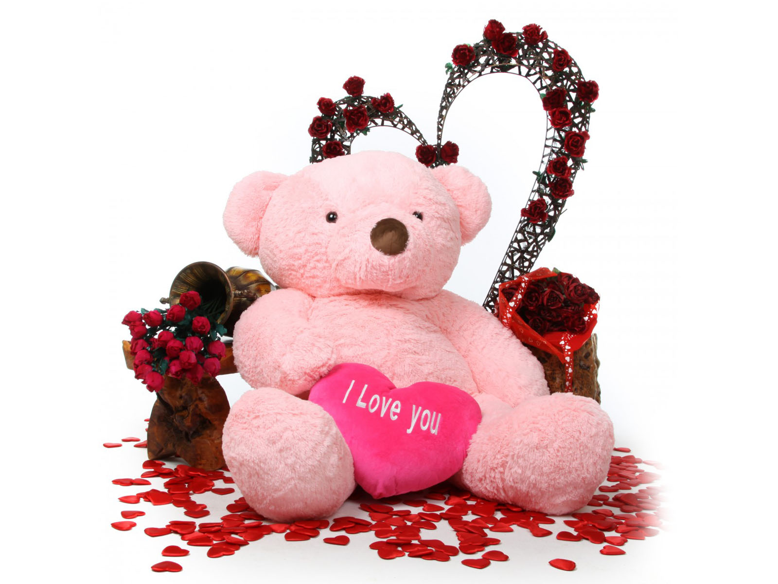 Love Wallpaper Wapking : wallpapers: Love Teddy Bear Wallpapers