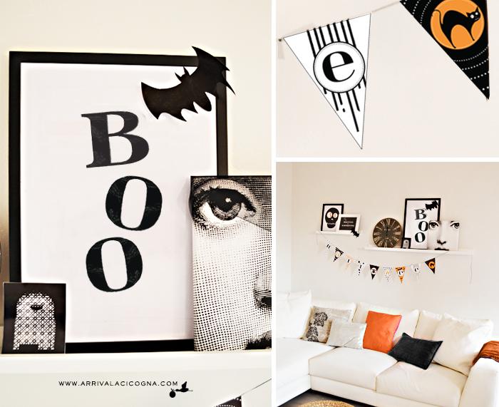 grafiche di Halloween da stampare
