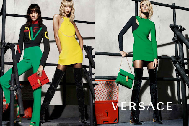 Karlie Kloss Is One of Versace's New Faces